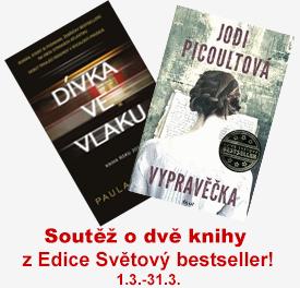 Soutěž o dvě knihy z Edice Světový bestseller!